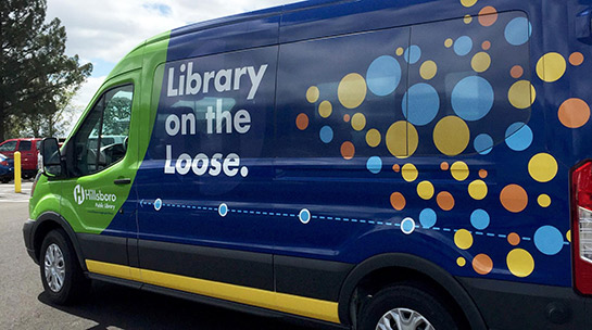 Library on the Loose van