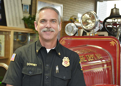 Fire Chief David Downey