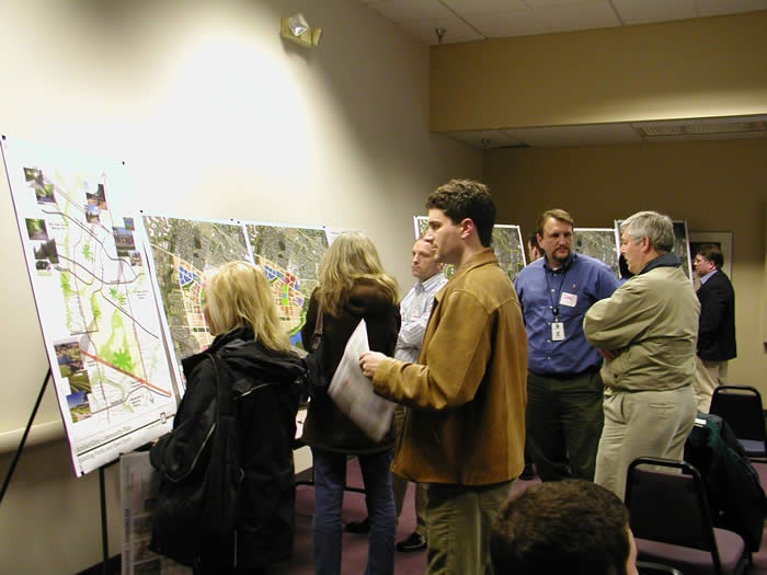 Image of people at April 1, 2009 Open House