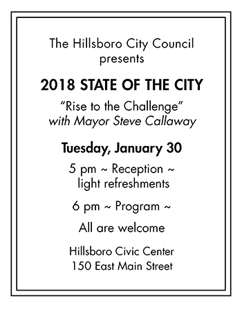 2018 State of the City info
