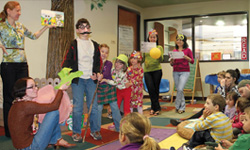 Storytime at the Hillsboro Public Library