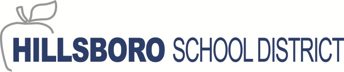 Image of Hillsboro School District Logo