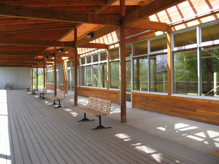 Image of Jackson Bottom Ed Center Deck