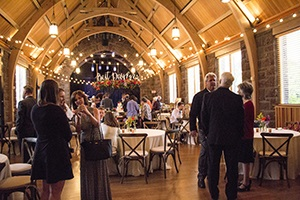 The Apeland Wedding Reception in full swing at the Walters. Photo by Stephanie Adams-Santos