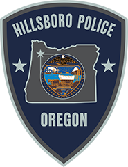 Hillsboro Oregon Police Patch