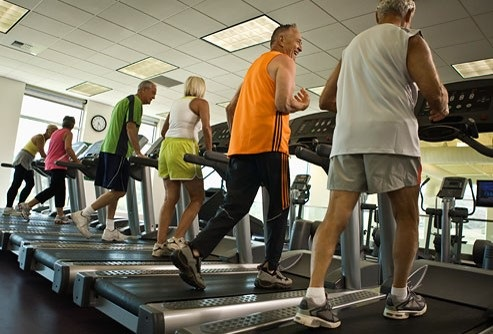 Community Center treadmills