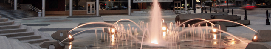 Image of Civic Center fountain