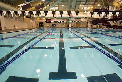 Image of the SHARC Indoor Main Pool