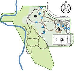Dairy Creek Park Map