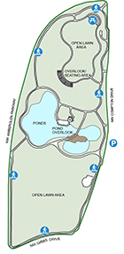 Amberglen Trail Map