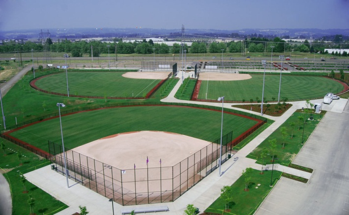 Image of the softball complex