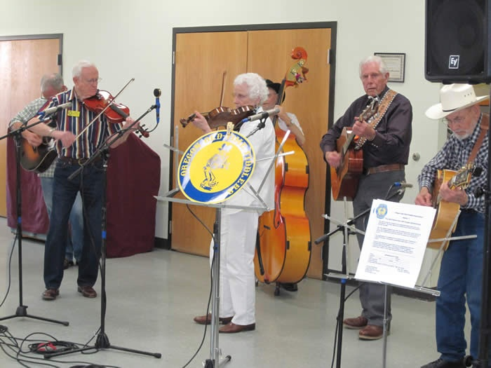 Image of Seniors playing music