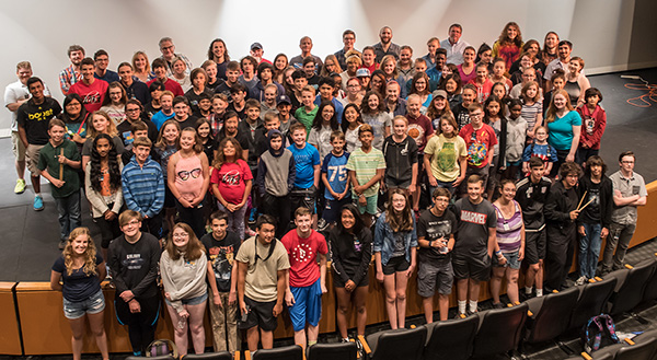 2017 Camp Amp Students and Staff.
