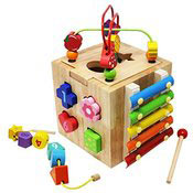 A colorful interactive early learning toy. Links to the Early Learning catalog on Washington County Cooperative Library Services