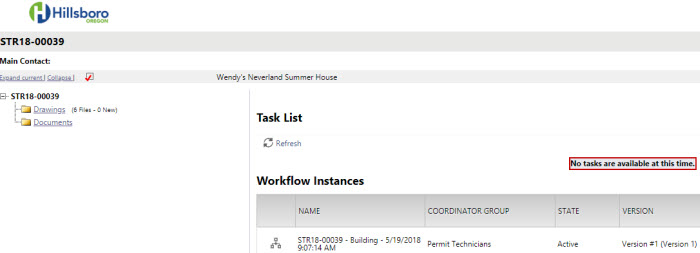 Applicant Resubmit Task - Image of Task Completion