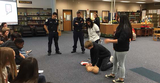 Evergreen Middle School CPR 2018