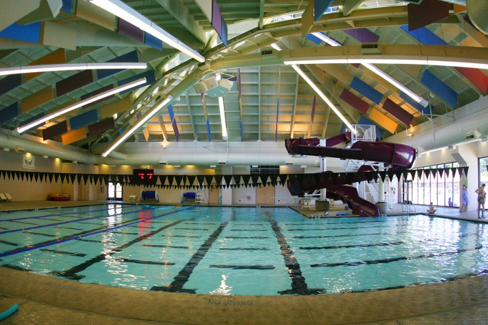 Main pool at SHARC