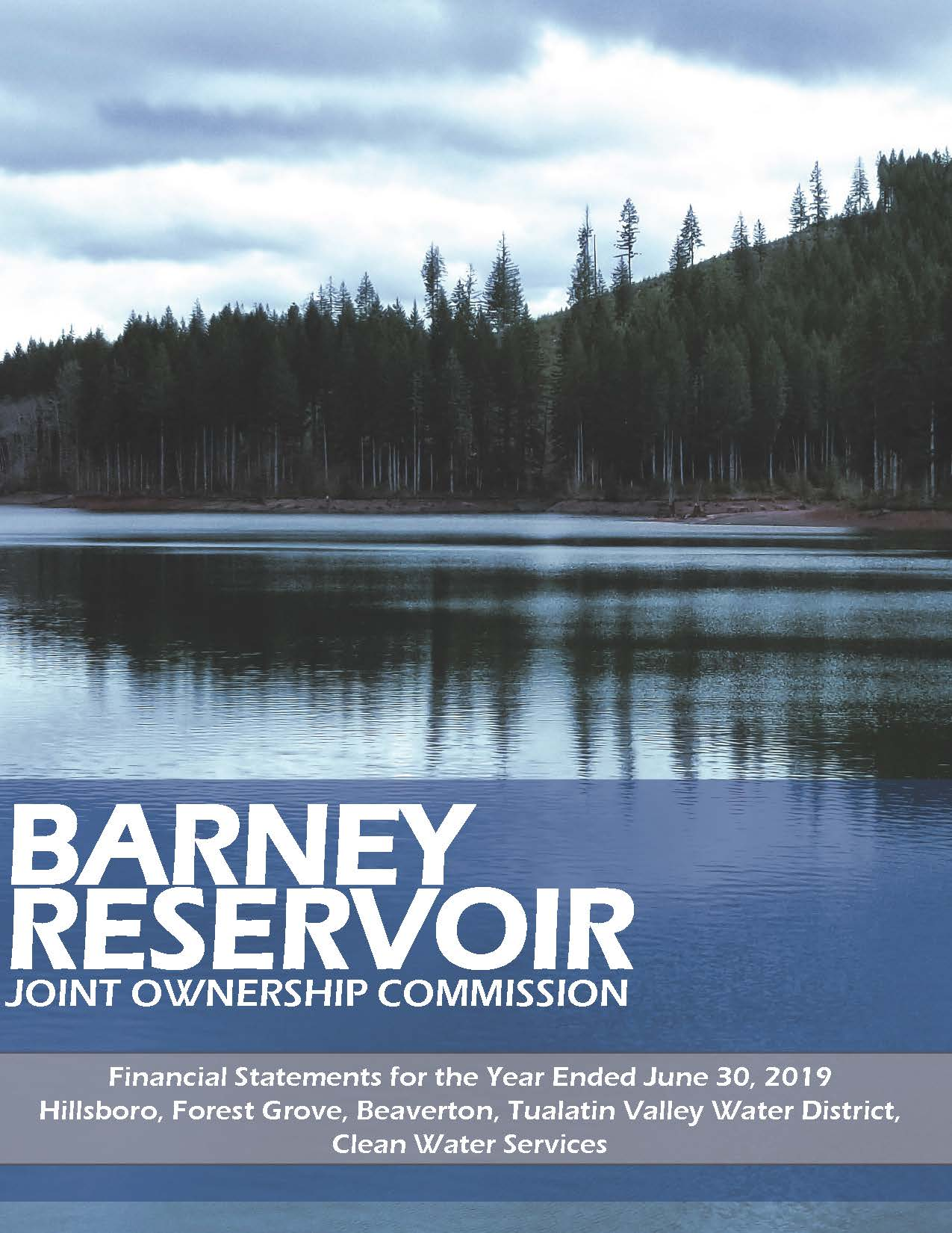 Barney Cover FY 2018-19