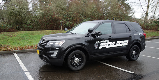 Hillsboro Police Increases Its Emphasis on Traffic Safety