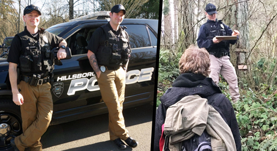 Hillsboro Police Work to Resolve Homelessness Challenges