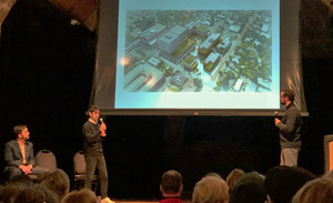 Developers present at an open house for Block 78 updates