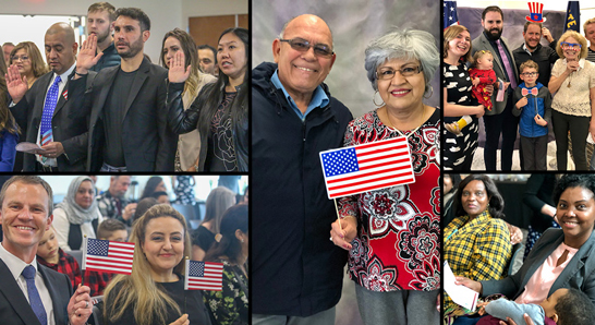 America's Newest Citizens Welcomed at Brookwood Library