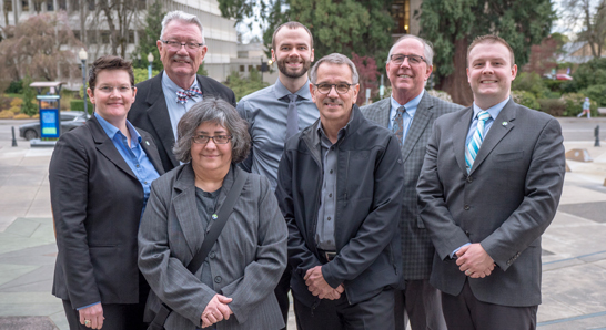 2019 City Council on the Civic Center Plaza