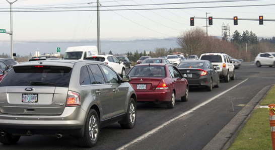 Traffic in Hillsboro