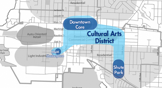 City Council Designates Downtown Cultural Arts District