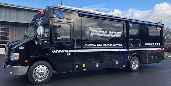 New Mobile Command Center Now Part of Hillsboro Police Fleet