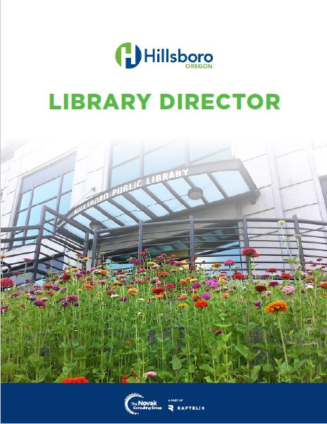 Library Director Recruitment Brochure
