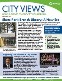 Photo of cover of March April 2014 City Views