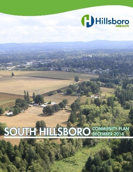 South Hillsboro Community Plan Cover Picture