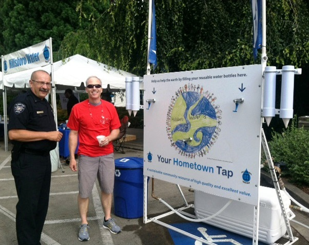 Image of the Hometown Tap at Celebrate Hillsboro