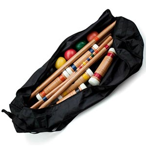 A croquet set. Links to the Recreational catalog on Washington County Cooperative Library Services