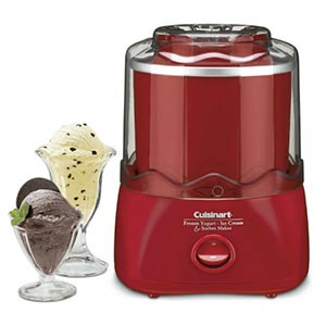 An ice cream maker. Image links to the Kitchenware catalog on Washington County Cooperative Library Services