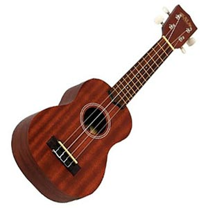 A ukelele. Links to the Instruments catalog on Washington County Cooperative Library Services.