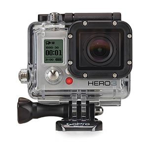 A GoPro Camera. Links to the Home Equipment catalog on Washington County Cooperative Library Services