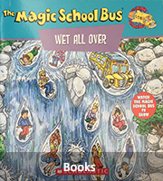 Books Button with image of Magic School Bus