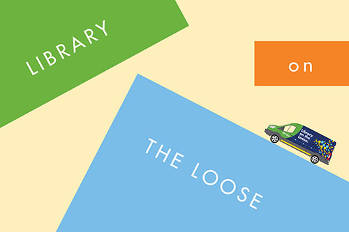 Library on the Loose Graphic