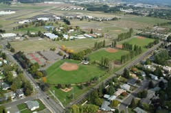 Arial of the Fairgrounds Sports Complex