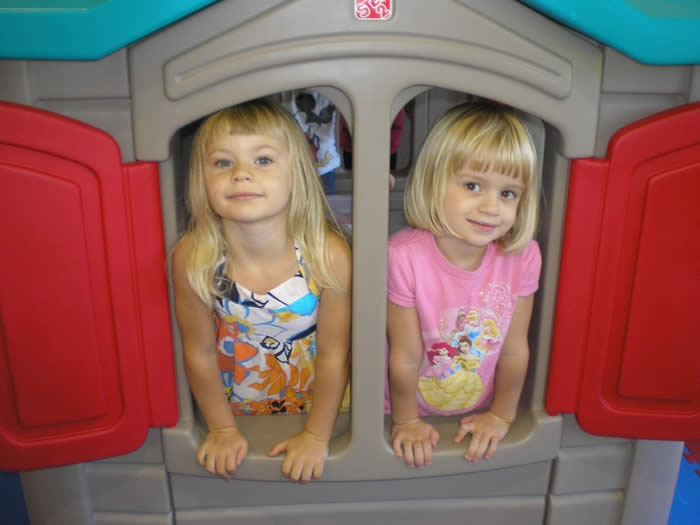 Image of Kids enjoying the play structures