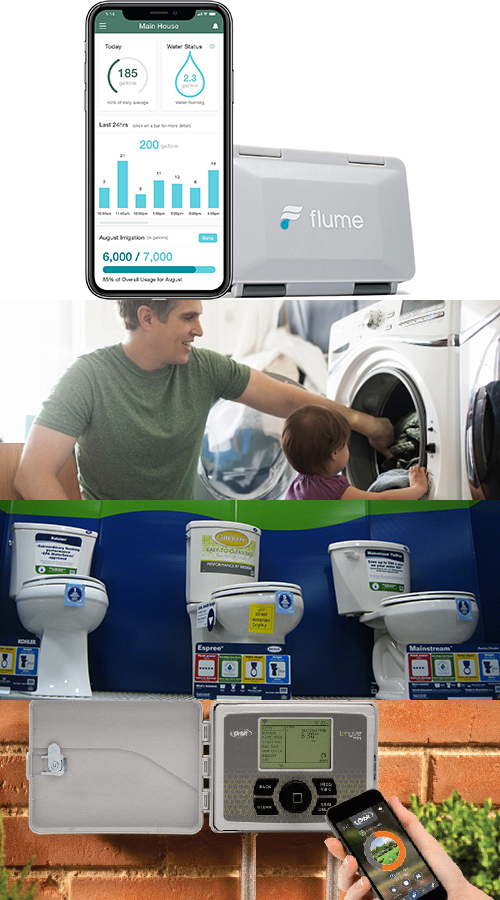 The City of Hillsboro offers rebates to customers for purchasing and installing washing machines, WaterSense labeled toilets, and weather-based irrigation controllers.