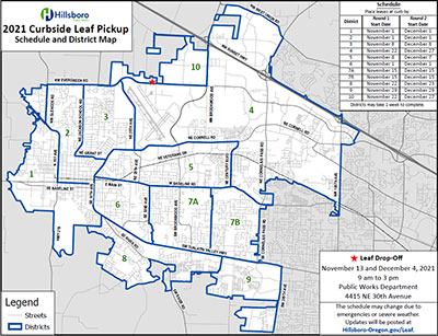 Linked image to the leaf pick-up map