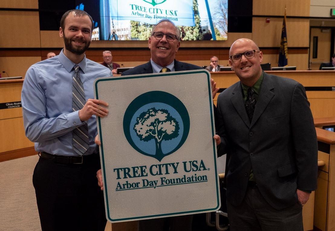 Tree City USA City Council Presentation March 5, 2019