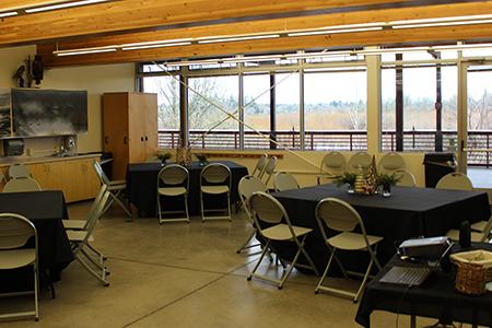 Jackson Bottom Wetlands Preserve Nature Center Classroom