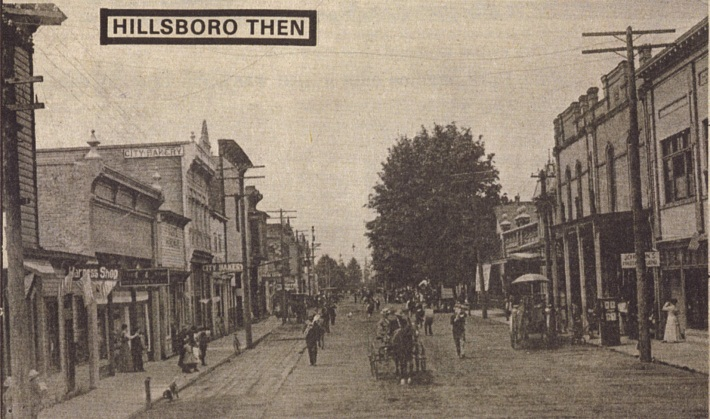 Image of downtown, Main Street 1909