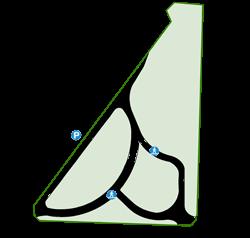 Map of Harold Eastman Rose Garden