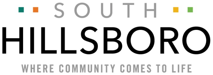 South Hillsboro, Where Community Comes to Life Logo