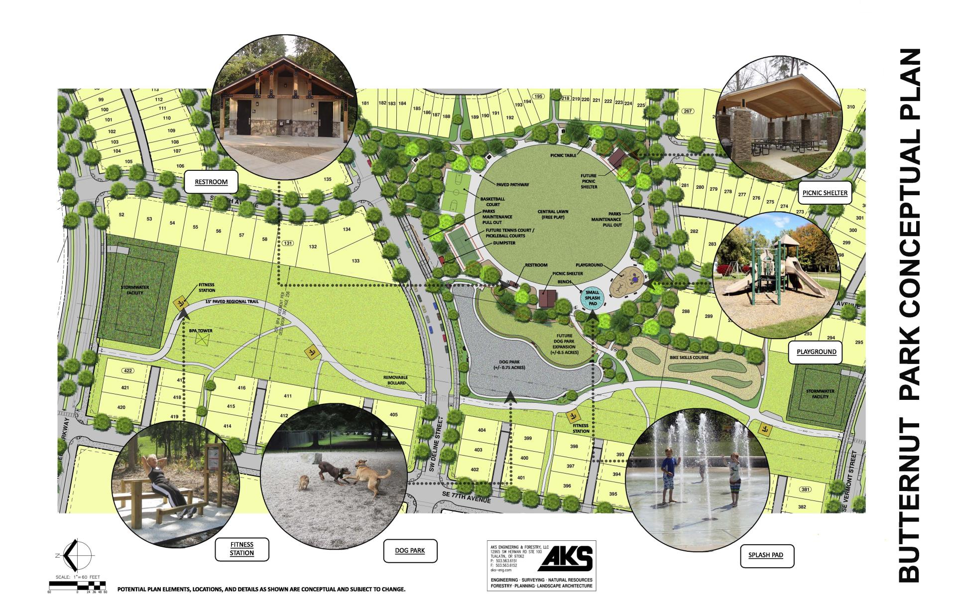 Butternut Creek Park Master Plan